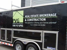PVG Real Estate Trailer