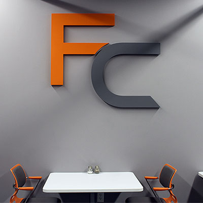Flexo Concepts Interior Sign